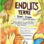 affiche atelier enduits terre Can la Haut2013